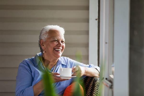 Independent Living resident of Pinnacle Senior Living