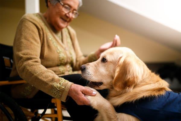 Respite care resident of Pinnacle Senior Living