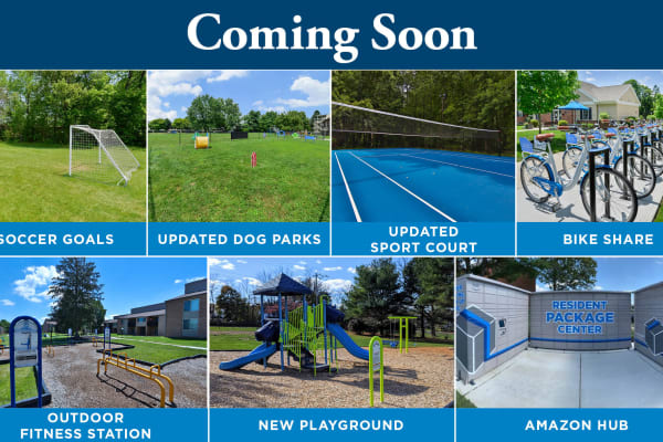 Amenities at Morningside Apartments & Townhomes in Owings Mills, Maryland
