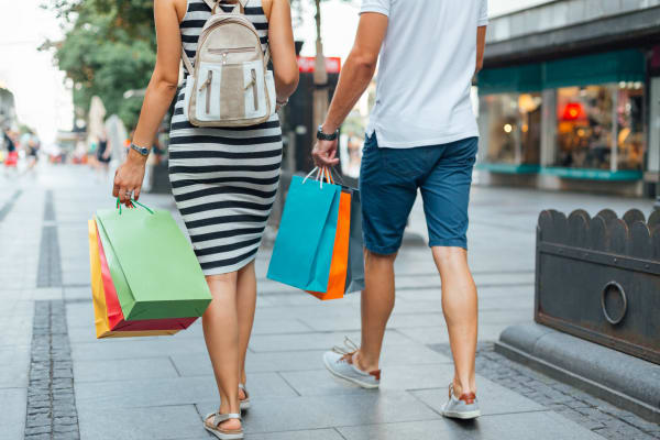 Residents shopping near Cactus Forty-2 in Phoenix, Arizona