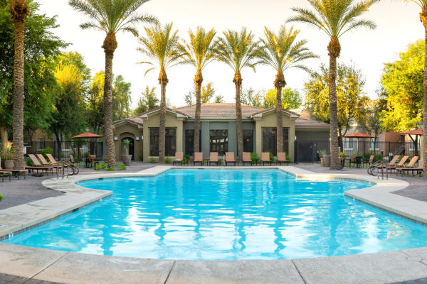 Swimming pool at Broadstone Desert Sky in Phoenix, Arizona