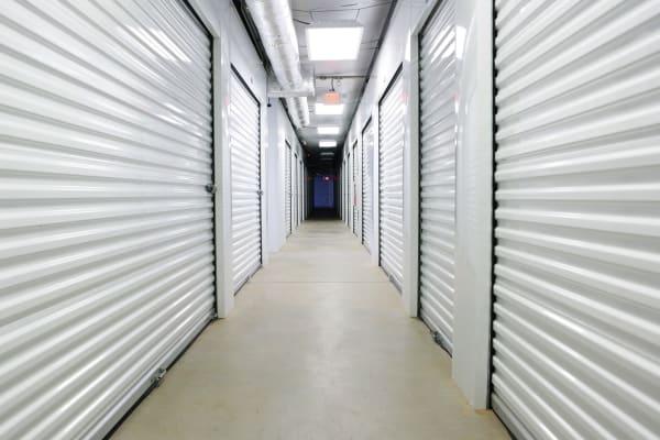 Interior units at Midgard Self Storage in Brevard, North Carolina