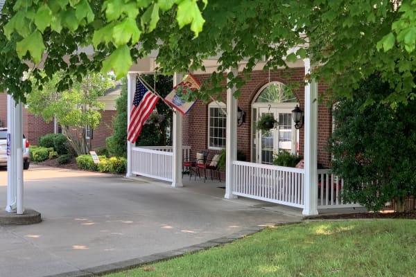 Resident at The Stilley House Senior Living in Benton, Kentucky