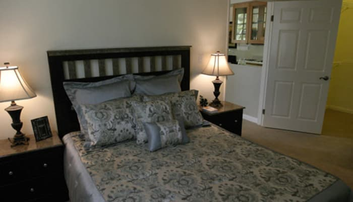 Bedroom at The Villas by Regency Park in Pasadena, California
