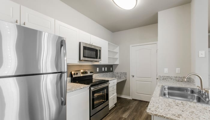 Open concept apartments at 2803 Riverside in Grand Prairie, Texas
