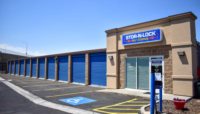 A welcoming front entrance to a STOR-N-LOCK Self Storage location