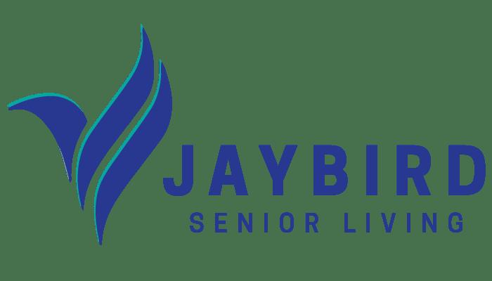 Jaybird senior living logo at at Landings of Minnetonka in Minnetonka, Minnesota