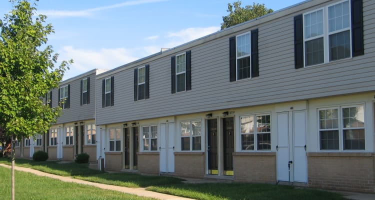 Exterior of our apartments at Fontana Village in Rosedale, MD