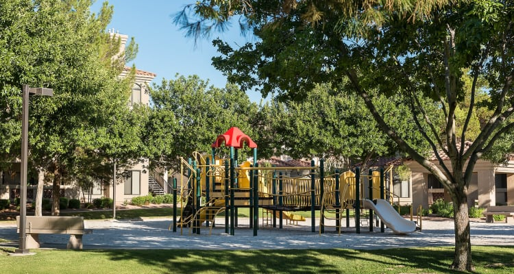 Children's playground at San Pedregal in Phoenix, Arizona