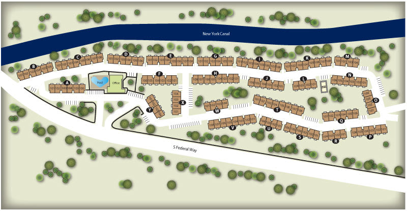 Monterra Townhomes Site Map