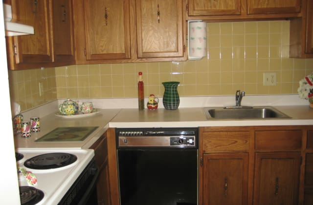Kitchen at Security Manor in Westfield, MA