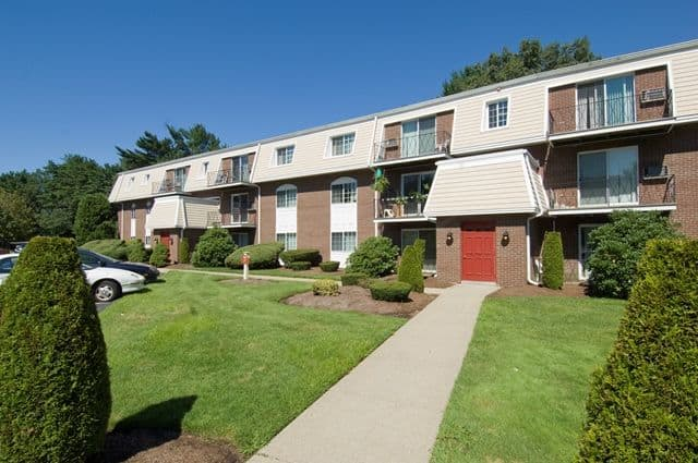 Exterior View of Talbot Woods Apartments in Middleboro, MA