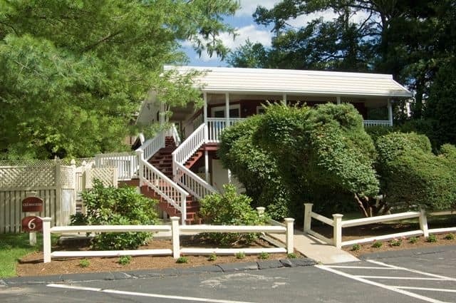Talbot Woods Apartments offers a walking paths in Middleboro, MA