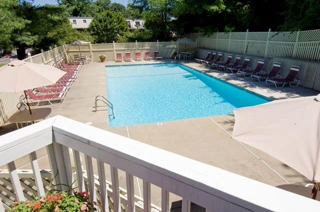 Talbot Woods Apartments offers a swimming pool in Middleboro, MA