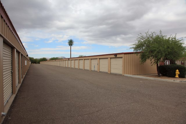 Drive-up units at Advantage Storage - Surprise in Surprise, Arizona