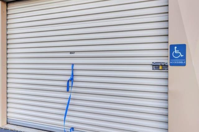 Closed storage door at Advantage Storage - Surprise in Surprise, Arizona