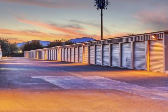 Large driveways at Advantage Storage - Surprise in Surprise, Arizona
