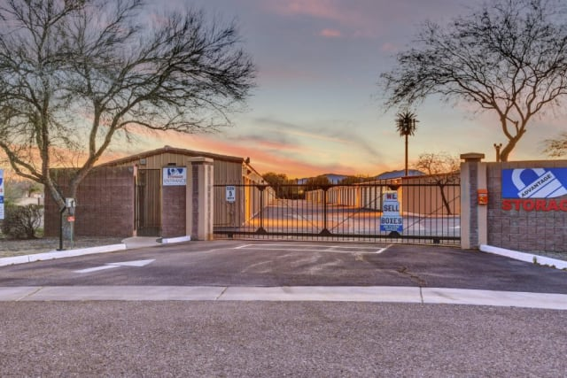 Gated access at Advantage Storage - Surprise in Surprise, Arizona