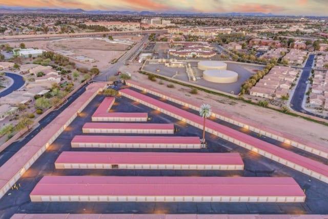 View of Advantage Storage - Surprise in Surprise, Arizona