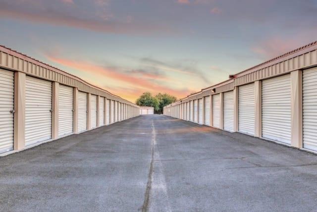 Ground-floor units at Advantage Storage - Surprise in Surprise, Arizona