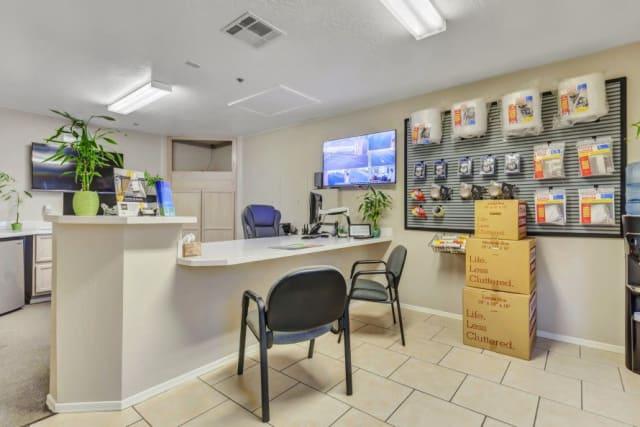 Leasing desk at Advantage Storage - Surprise in Surprise, Arizona