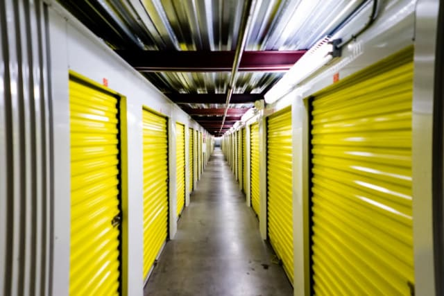 Self storage containers from Yellow Door Storage in Argyle, Texas