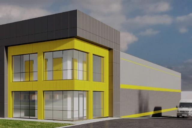 Rendering of Yellow Door Storage in Argyle, Texas