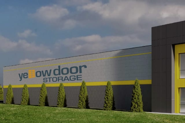 A second view of Yellow Door Storage in Argyle, Texas