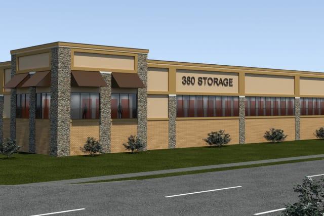 Rendering of 380 Storage in Denton, Texas