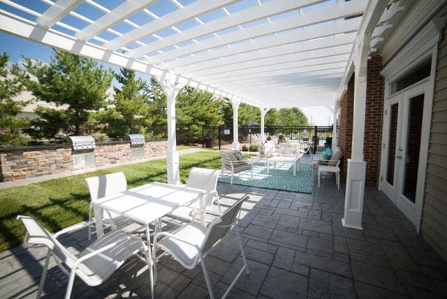 Beautiful Seating area at Riverside Manor in Fredericksburg, VA