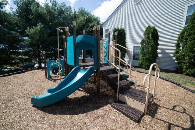 Play area at Riverside Manor in Fredericksburg, VA