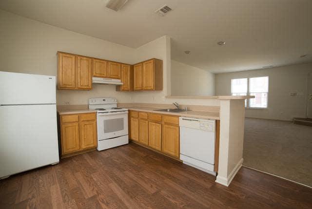 Luxury kitchen at Riverside Manor in Fredericksburg, VA