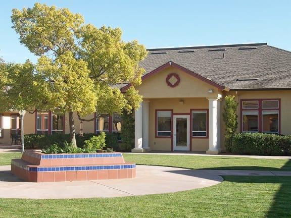 Exterior view of MuirWoods Memory Care in Petaluma