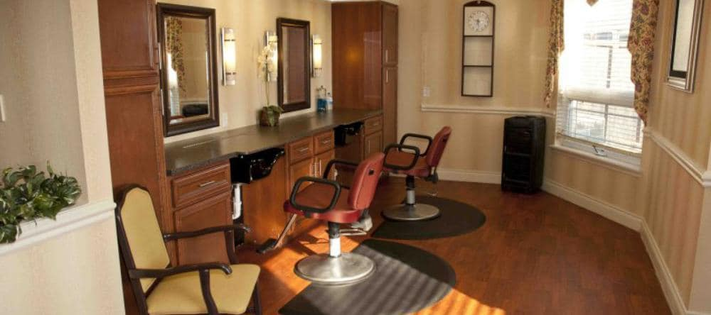 Spa & salon at Waltonwood Royal Oak in Royal Oak, MI