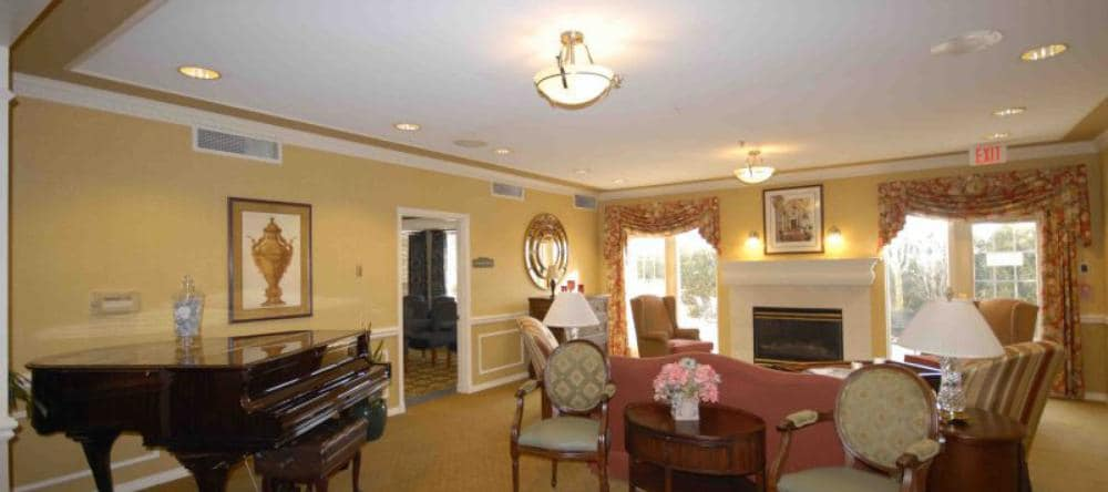 Common area at our independent living facility in Royal Oak, MI