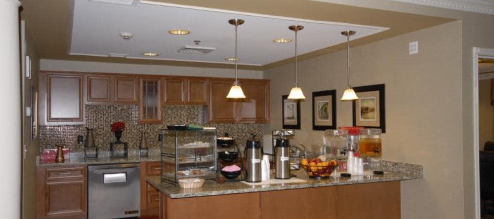 Kitchen at Waltonwood Royal Oak in Royal Oak, MI