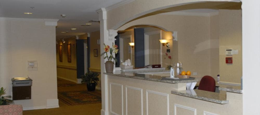 Kitchen area at our assisted living facility in Royal Oak, MI