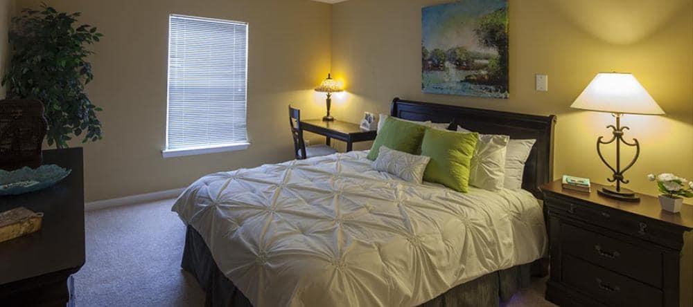 Our senior apartments in Novi, MI offer cozy bedrooms