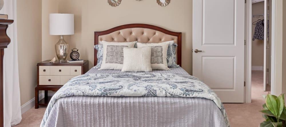 Bedroom for two at Waltonwood Lake Boone