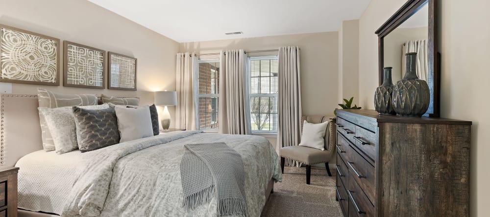 Bedroom at Waltonwood Cherry Hill