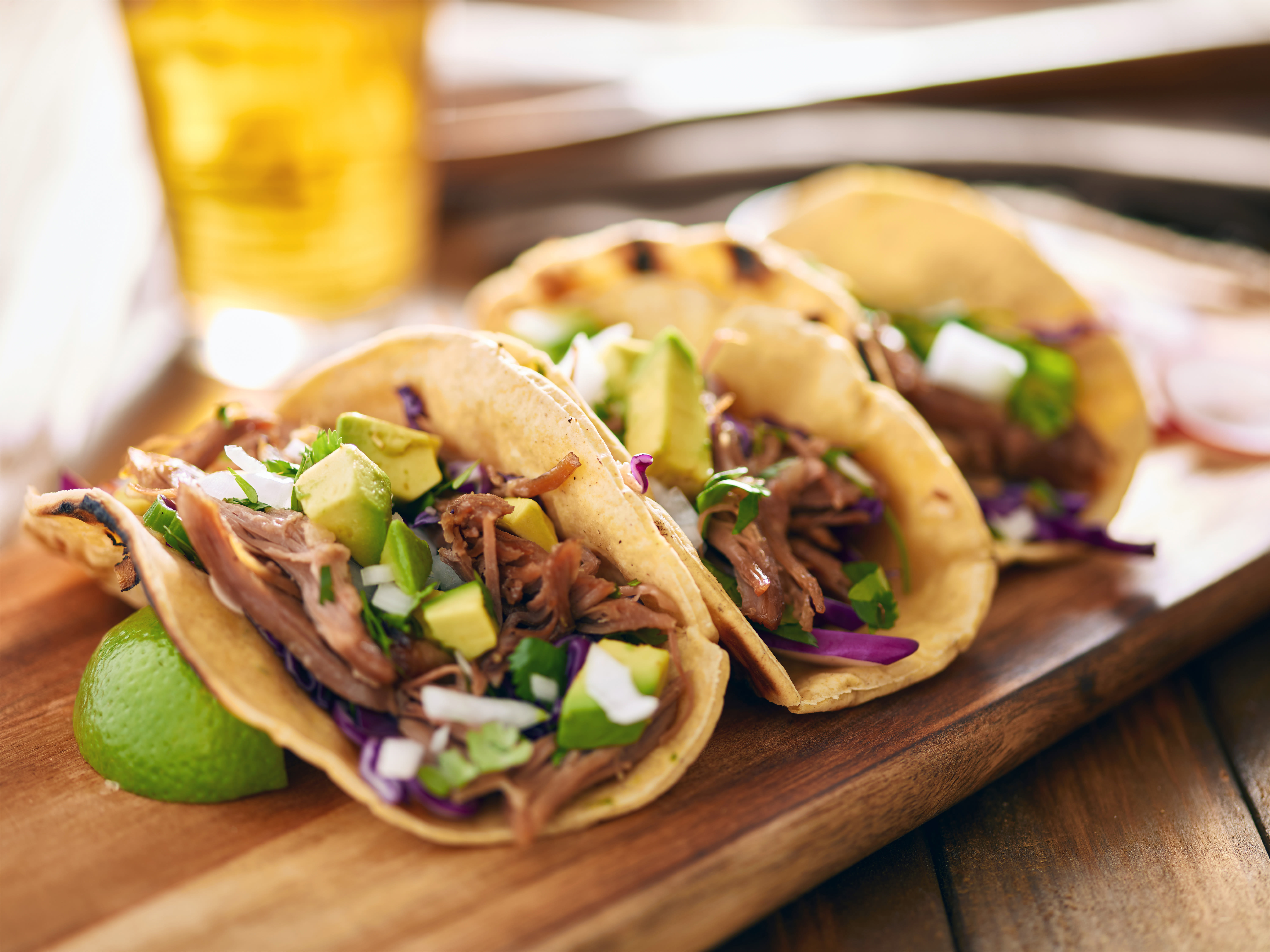 Enjoy a delicious tacos at The Park at Surprise senior living facility