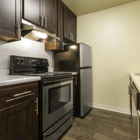 Kitchen Room at The Timbers Apartments in Hayward