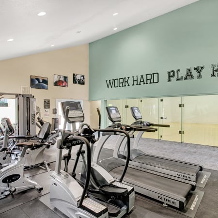 Fitness Center at Park South Apartments in Seattle