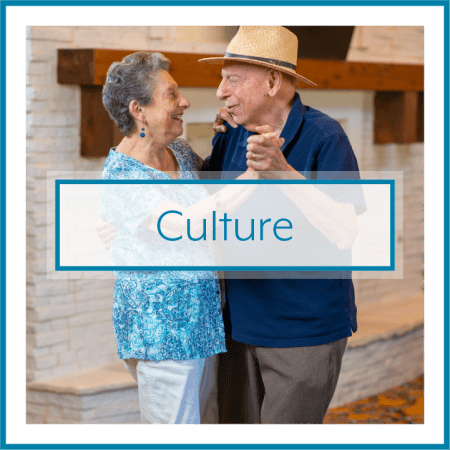 Culture call out at Watercrest at Kingwood in Kingwood, Texas