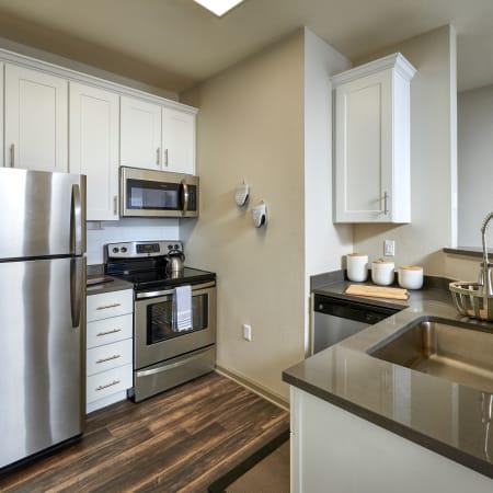 View floor plans at Gateway Park Apartments in Denver
