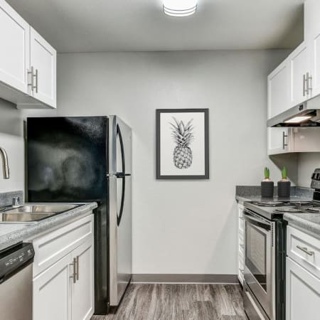 Our floor plans at The Woodlands Apartments in Sacramento, California