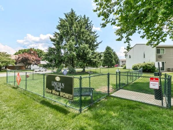 Community park at Lincoln Park Apartments & Townhomes