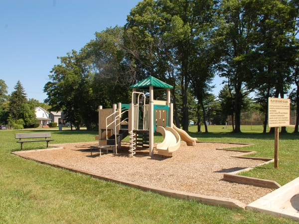 A playground that is great for entertaining at apartments in Baltimore, Maryland