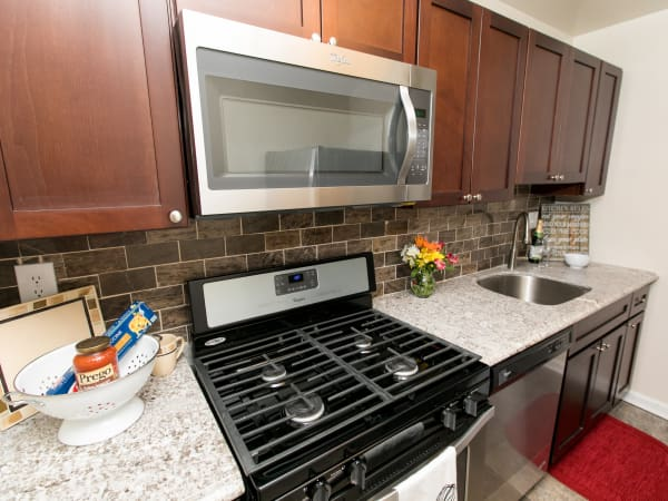 Our apartments in Glen Burnie, Maryland have a natrually well-lit kitchen
