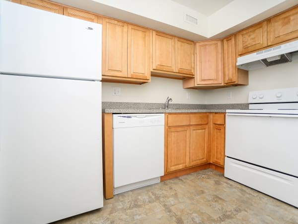 Our apartments in Vineland, New Jersey showcase a beautiful kitchen